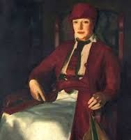 Portrait of Mrs.Chester Dale by George Bellows (American 1882-1925)