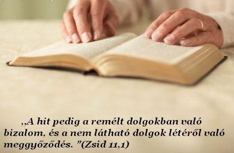 Biblia olvasása a legjobb hiterősítés