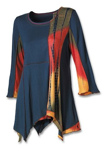 Blue Fancy Tunic: