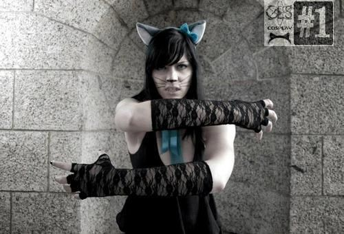 """Cosplayer of the Month August  South African Cosplay is on the rise and growing each year  We feature one of the most prominent Cosplayers """"KomboKitten"""""""