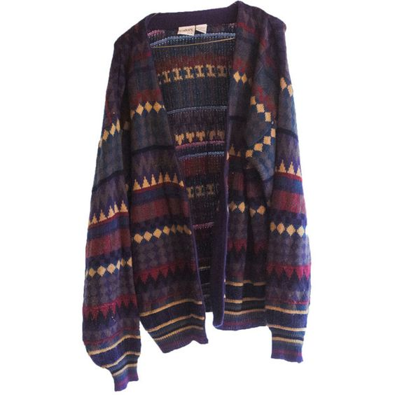 Oversize Hipster Cardigan Sweater Geometric Horizontal Print ($20) ❤ liked on Polyvore featuring tops, cardigans, outerwear, jackets, print top, hipster tops, hipster cardigan, patterned cardigan и vintage tops