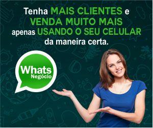 WhatsNegócio é um curso completo passo a passo em detalhes, onde você vai aprender as melhores técnicas e estratégias para usar todo o poder do WhatsApp em seu negócio.