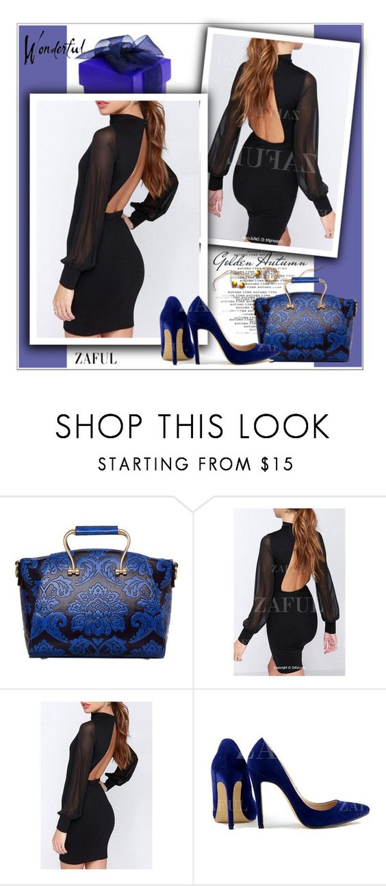 """32. www.zaful.com/?lkid=4274"" by selmir ❤ liked on Polyvore featuring zaful"