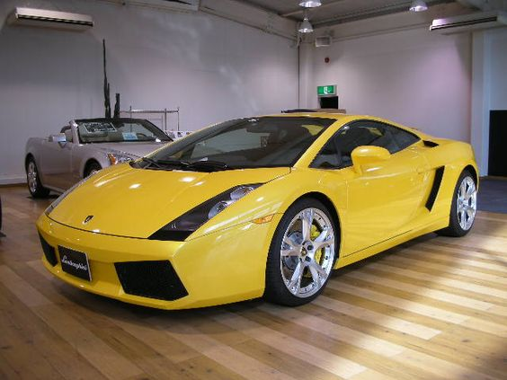 2007 Lamborghini Gallardo Nera. I don't like yellow cars but am sure if I had this little beauty, I could learn to live with it!