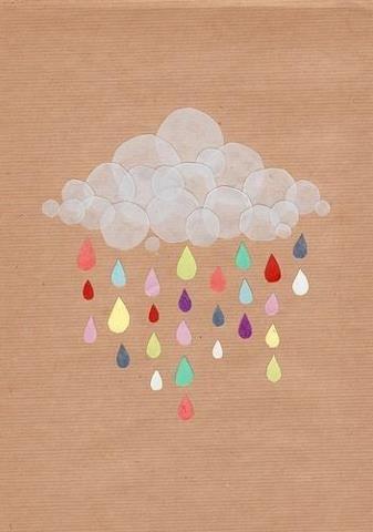 Plou poc però a poc que plou, plou prou.