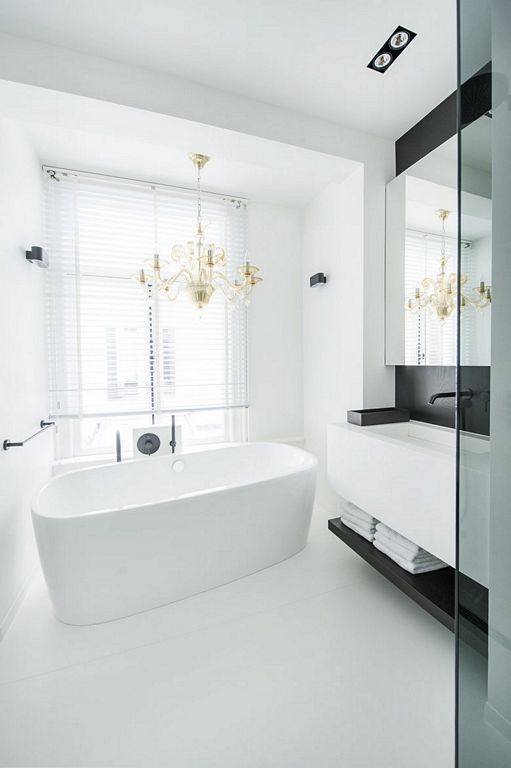 Amsterdam Canal Family Home By Lg Hausys Europe White Bathroom Accessories Gray Bathroom Decor Navy Bathroom Decor