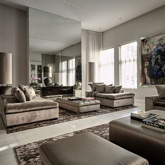 Entertainment Areas More Relaxed But Stylish And Luxe: Private Residence / Living Room / Eric Kuster