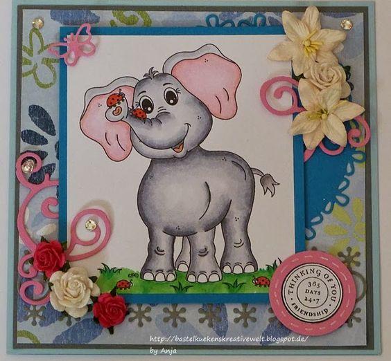 Elefant von Peppercus Design