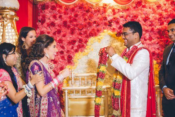 NYC Indian Wedding Photography captured by NYC wedding photographer Ben Lau.