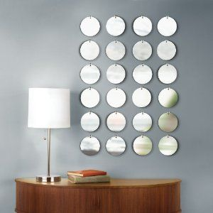 Umbra Pixical Mirrored Wall Decor, Set of 24 $25