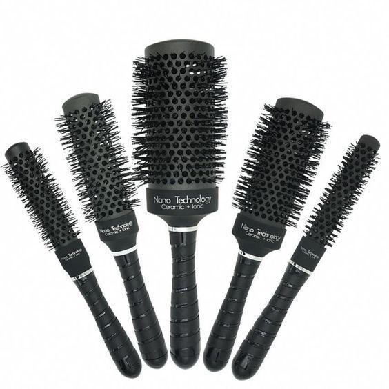 Type De Brosse A Brushing Types De Cheveux Lisse Coiffure
