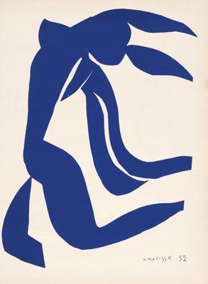 Découper - composer dans la couleur - Henri Matisse - capturing women's femininity