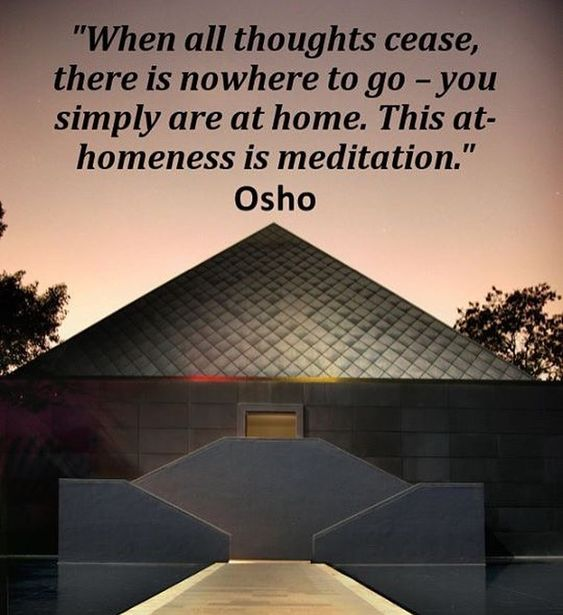 """""""With no-mind you become so wakeful, so watchful – nowhere to go outside, because all thoughts are gone. So you turn inwards, and for the…"""