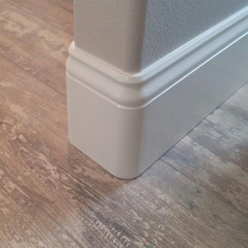 Bathroom Remodel Discover Floor Decor Primed Mdf Coronado Corner Base Molding 9 16 Inch X 5 1 4 Inch X 1 3 4 In In 2020 Baseboards Moldings And Trim Baseboard Trim