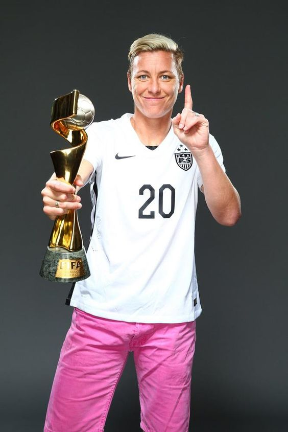 Abby Wambach, outtakes from Sports Illustrated commemorative World Cup covers. (Simon Bruty/Sports Illustrated)