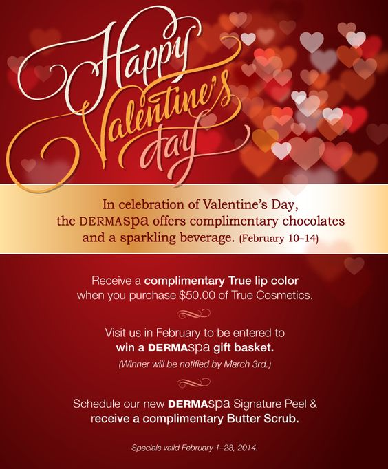 valentine day packages washington dc