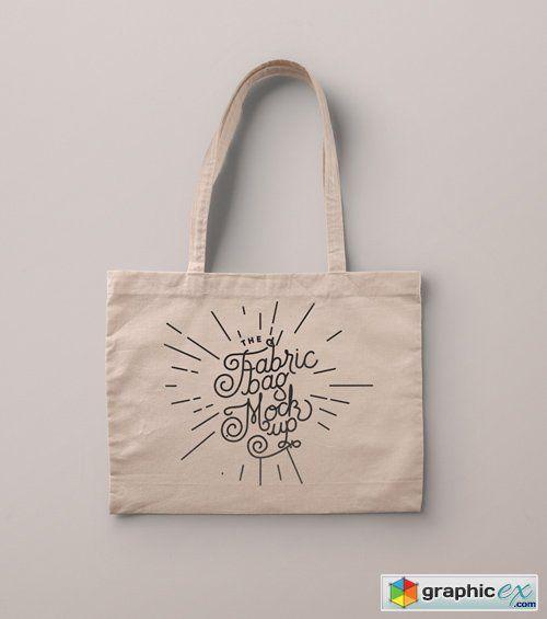 Download Psd Tote Bag Fabric Mockup Tote Bag Bags Tote