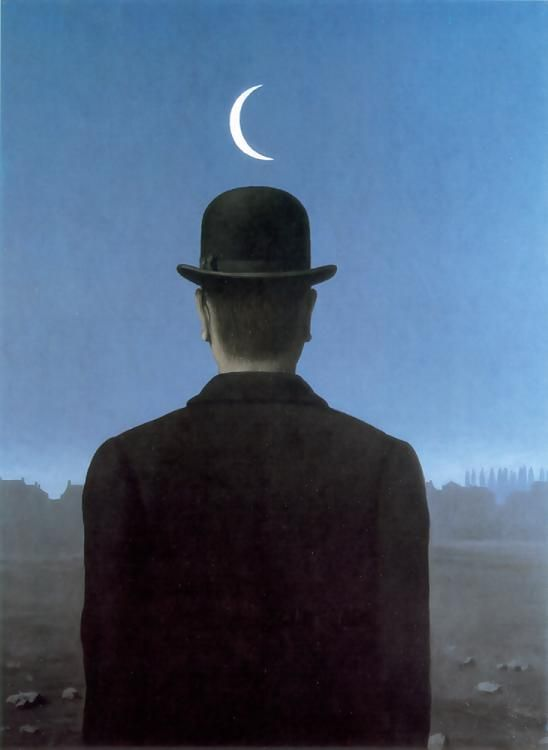 The School Master by Rene Magritte