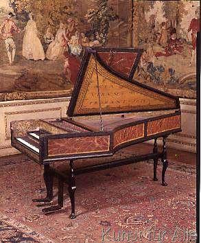 Jan Ruckers - Harpsichord, 1634