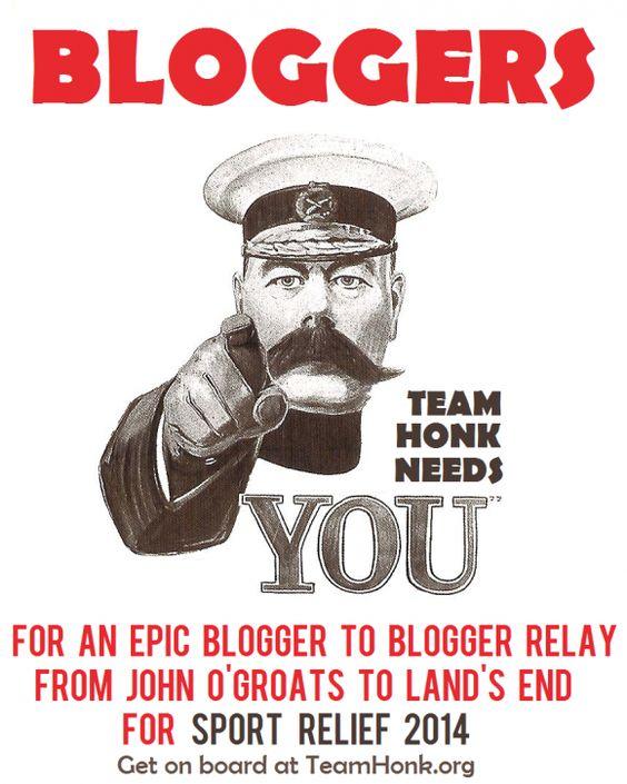 #TeamHonk14 needs your help!: