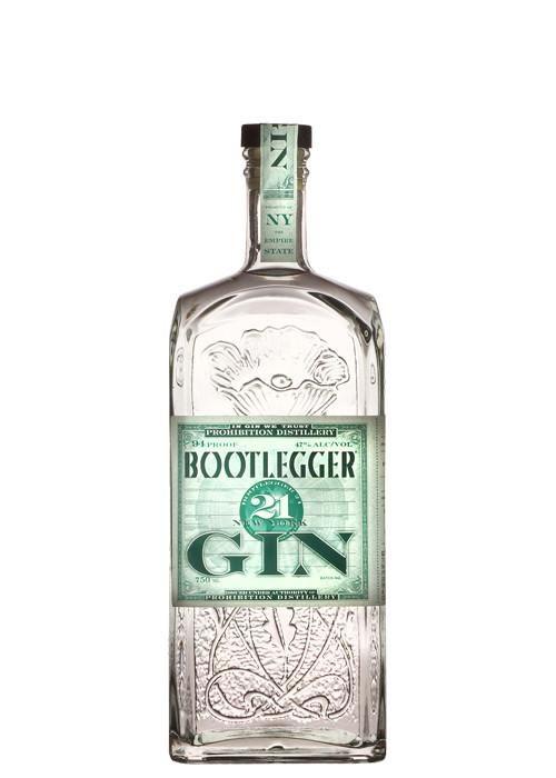 Prohibition Distillery Bootlegger 21 Gin Gin Craft Gin Gin Bottles