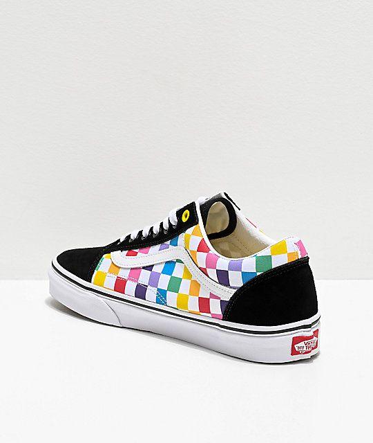 Vans shoes fashion, Old skool black