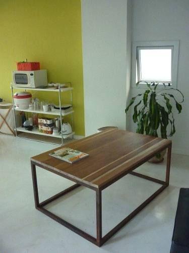 Mesas ratonas y comedor minimalistas rusticas mesa - Mesas comedor rusticas ...