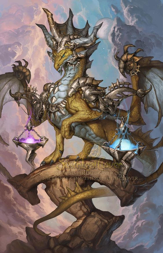 2015 Zodiac Dragons - Libra by The-SixthLeafClover on deviantART