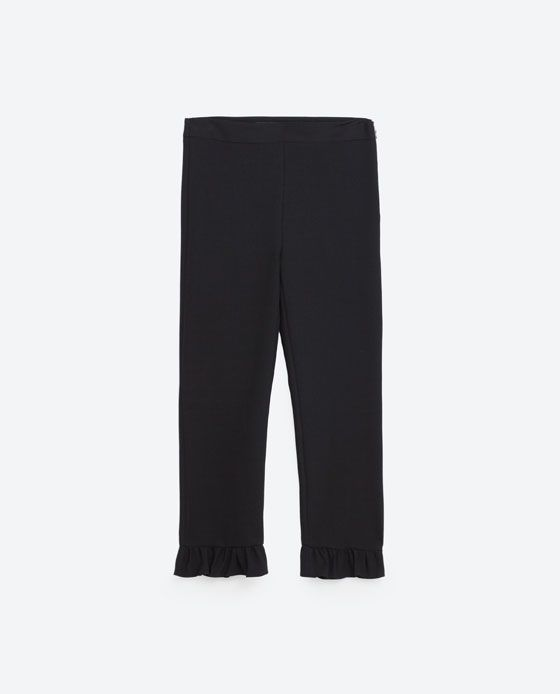 Image 6 of FRILLED TROUSERS from Zara