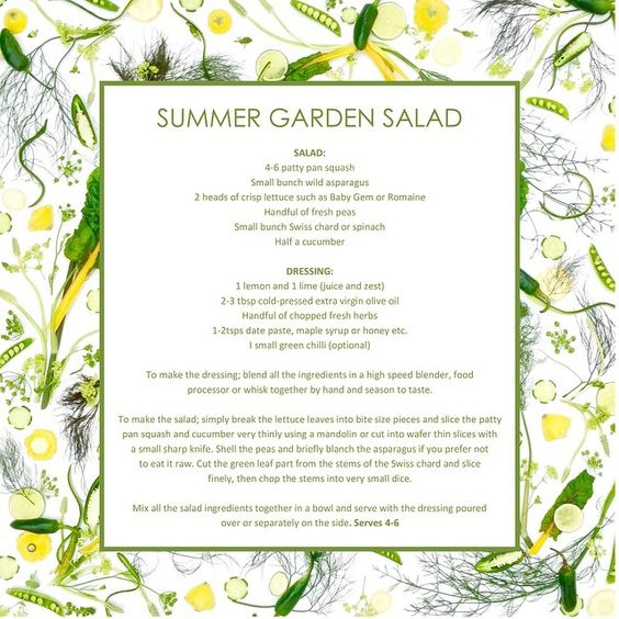 Recipe for the salad I posted a couple of days ago. If anyone would like a pdf version of this image above (with recipe) please email me at: amber@rawveganblonde.com and I'll send it to you.. ☀️ 'Greens and Yellows' : part 7 of 7