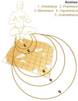 Know the effect of 5 khoshas - Annamaya, Pranmaya, Manomaya, vigyanmaya and Ananadmaya according to vastu.