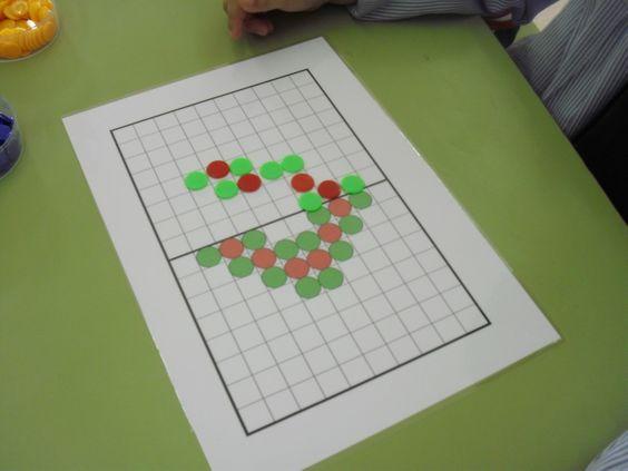 Aprendo en Infantil y Primaria: JUEGO SIMETRÍAS: con fichas de parchís