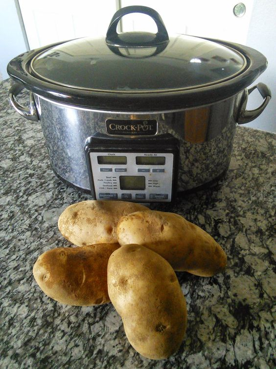 How To Make Bake Potatoes In A Slow Cooker