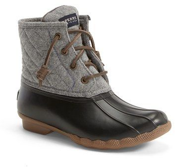 Sperry 'Saltwater' Waterproof Rain Boot (Women) (Nordstrom ...