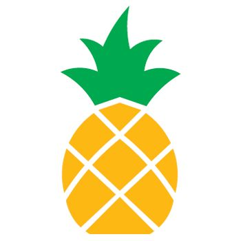 Large Pineapple Stencil Google Search Home Inspiration