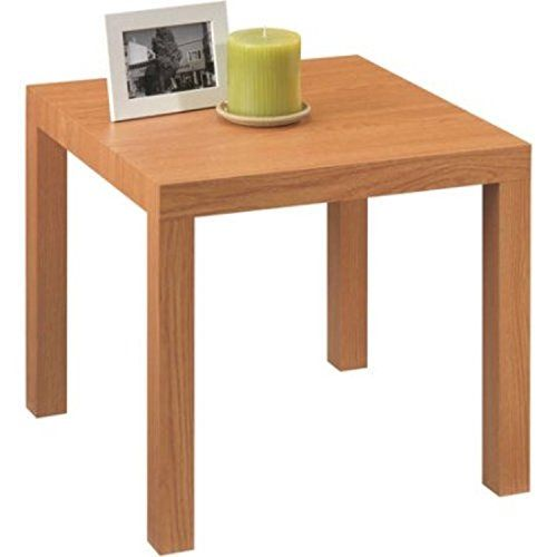Mainstays Parsons Side End Table Multiple Colors Natural Modern End Tables End Tables Living Room End Tables