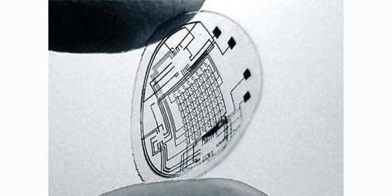 a contact lens that can measure glucose and cholesterol levels...then send to your phone.