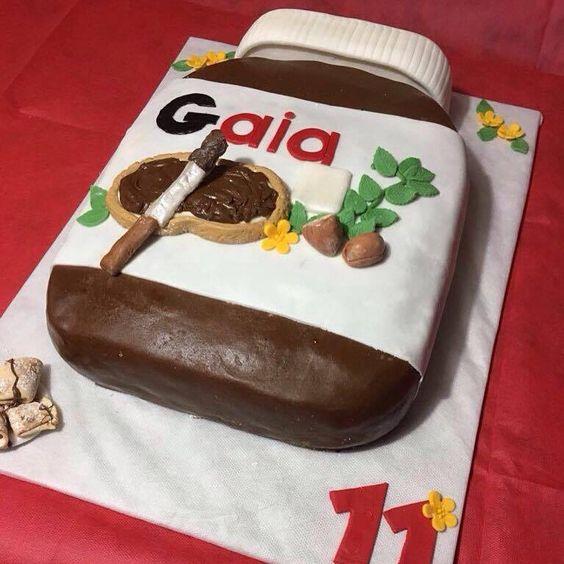 Torta di compleanno di mia nipote Gaia