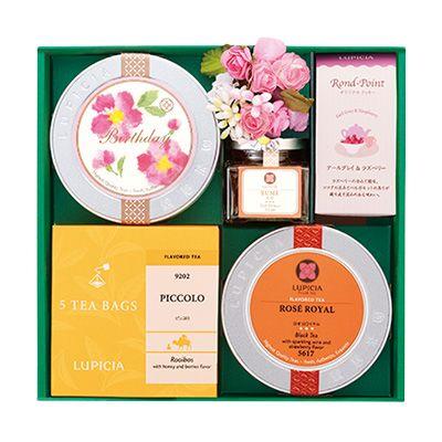 プレゼントに最適!ルピシアの「人気のお茶とお菓子の詰め合わせ」