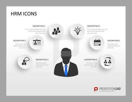 helpful human resource management powerpoint template icons, Powerpoint templates