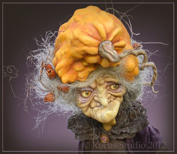 © Rucus Studio 2012. Another face full of expression and a pumpkin hat. Love this.