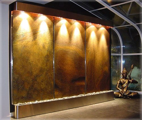 How To Integrate Interior Wall Fountains In Your Home: Water Fountains, Indoor And Water On Pinterest