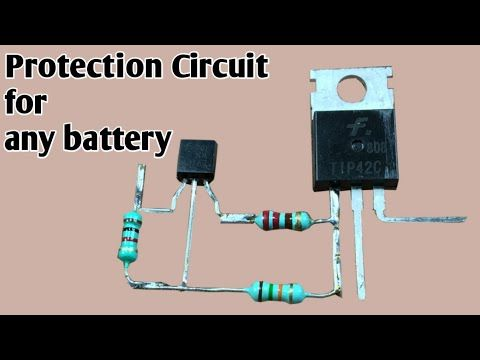 Battery Low Voltage Cutoff Circuit Battery Protection Circuit Allpcb Youtube Circuit Electronic Schematics Led Projects
