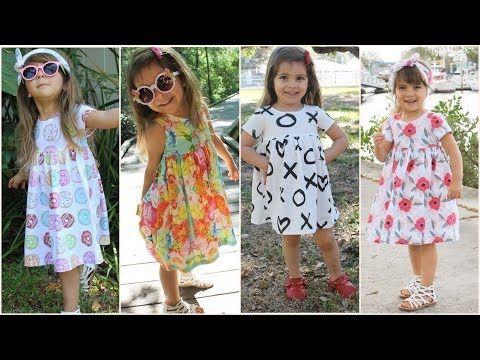 اشيك فساتين اطفال بنات قصيرة 2018 Lily Pulitzer Dress Fashion Dresses