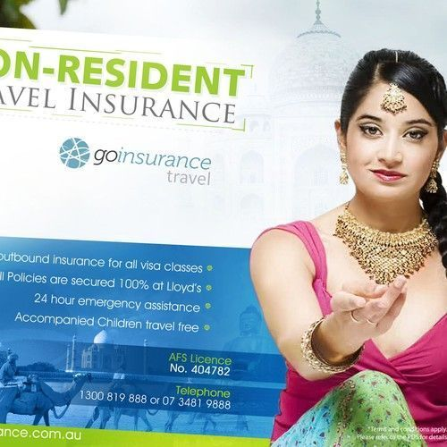 Creative Print Ad Required For Unique Travel Insurance Product