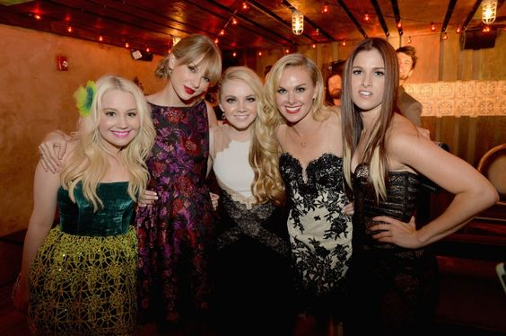 Country girls just want to have fun. Labelmates RaeLynn, Taylor Swift, Danielle Bradbery, Laura Bell Bundy, and Cassadee Pope attend Big Machine Records' 47th CMA Awards after-party on Nov. 6 in Nashville, Tenn.