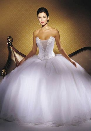 plus size full ball gown wedding dress | Wedding Hints | Pinterest ...