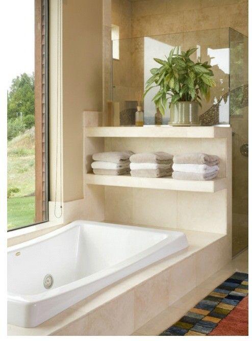 Tinas de bano con ducha inspiraci n para el dise o del - Cuartos de bano con banera ...