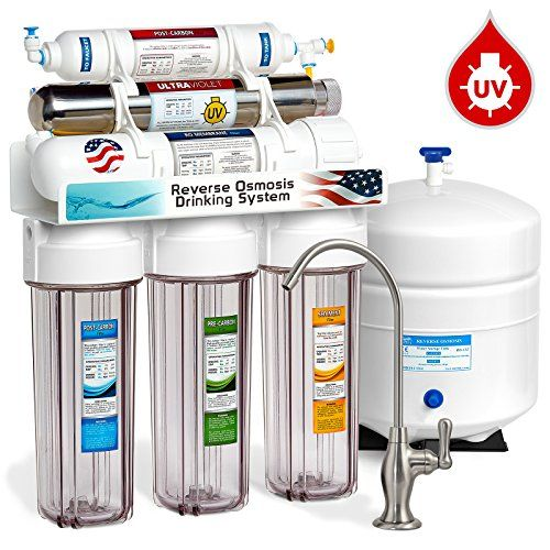 Express Water 6 Stage Reverse Osmosis Drinking Water Filter System With Ultra Reverse Osmosis Water Filter Reverse Osmosis Water Osmosis Water Filter