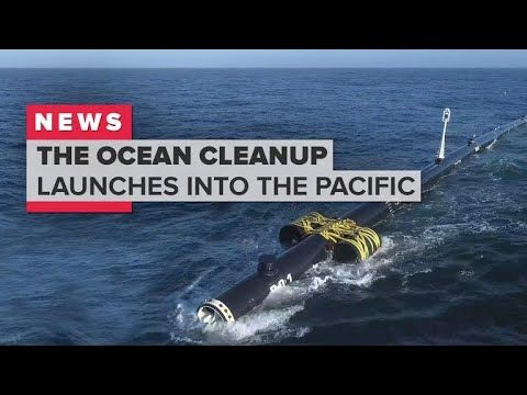 The Ocean Cleanup Launches To The Great Pacific Garbage Patch Followformore Tech Videos Gaming Gadgets Ocean Cleanup Great Pacific Garbage Patch Ocean
